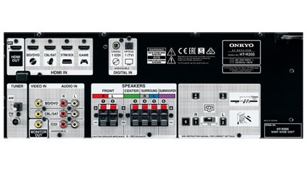5.1 Channel Home Theater Circuit Diagram | Onkyo India